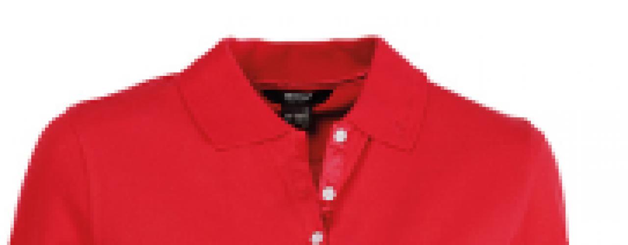 Golfskjorte med NSG-logo