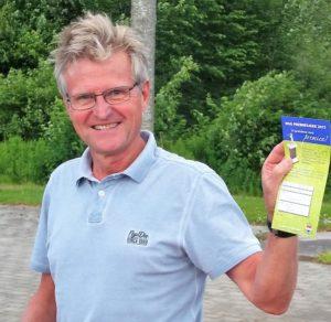 Vinner kl 7, Lasse Bergan, Hakadal GK, 65 (netto)